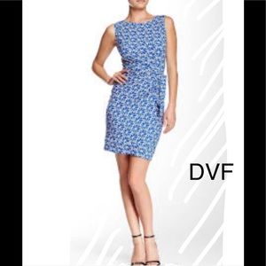 Diane Von Furstenberg Summer Stretch Dress Size 12